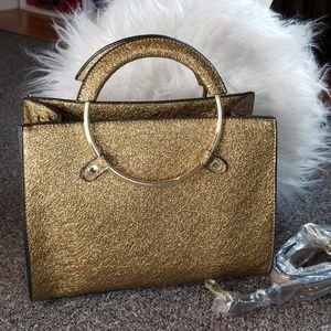 NWT BCBGeneration Gold Purse Amazing 😊💕